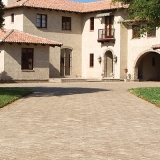 Tremron brick-paver antiqued
